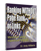 Ranking without Page Rank or Links